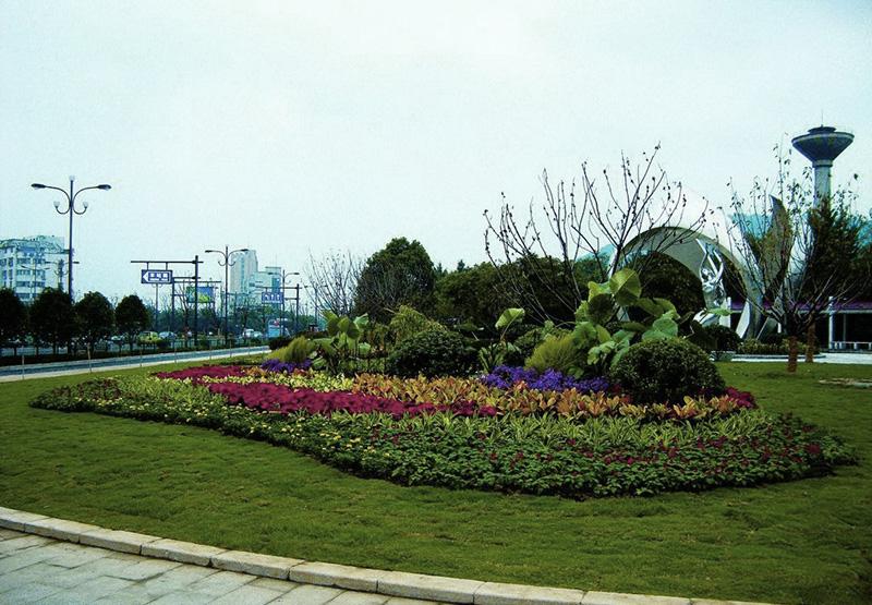 西安市泾高北路(渭阳路-渭东路)绿化工程